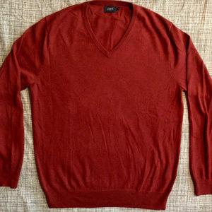 J. Crew cotton v-neck sweater